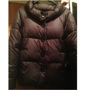 Vince Navy Down Puffer Puffy/Ski Coat